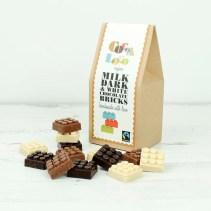 http://www.greentulip.co.uk/gift-food/chocolate/organic-milk-dark-and-white-bricks-100g.html